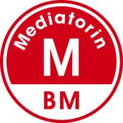 Logo Mediatorin - Bundesverband Mediation
